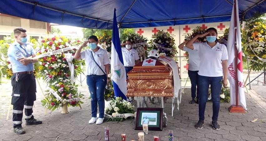 Último adiós al socorrista Gustavo Olivas