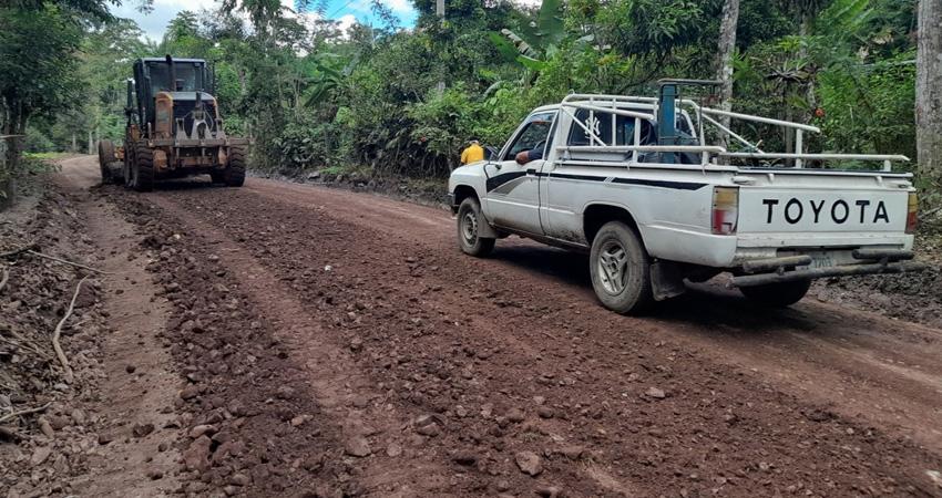 Según el alcalde liberal de Pantasma, con prioridades el mantenimiento y reparación de caminos que sirven para el traslado de la cosecha en la zona.