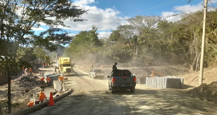 La reparación de las vías ha permitido sacar la cosecha de café oportunamente.