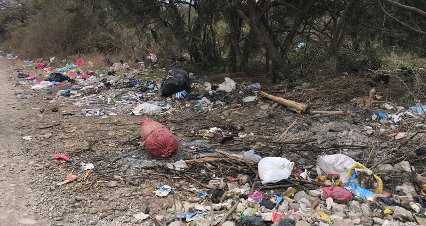 La falta de cultura y conciencia ambiental es evidente. Entre las comunidades de Paso Ancho y La Tunosa de Estelí se ha creado un basurero clandestino contra el que los pobladores están cansados de lidiar.