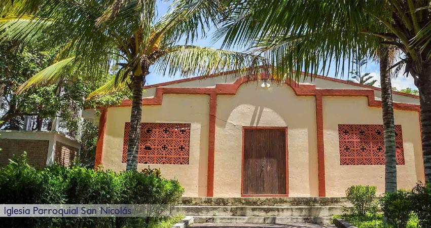 Aunque San Nicolás es un municipio de Estelí, su parroquia y actividades religiosas se rigen con la Diócesis de León.