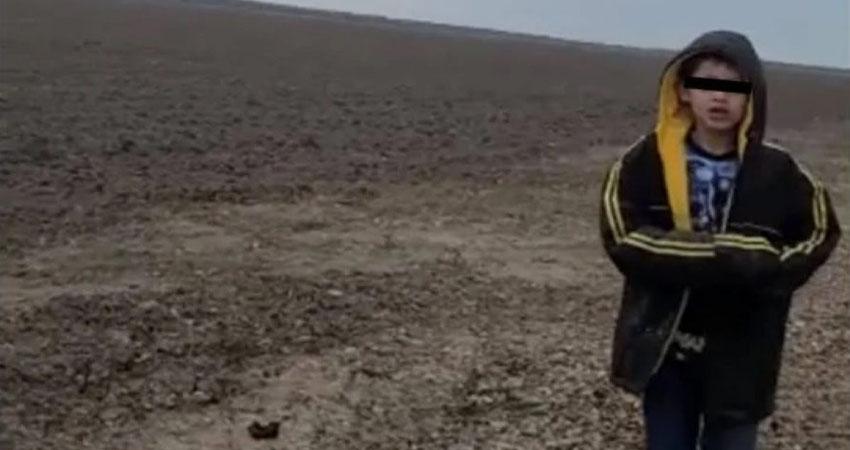 """La madre del niño de 10 años, que la semana pasada fue rescatado por oficiales de Estados Unidos tras ser abandonado en el desierto de Texas, tras cruzar ilegalmente la frontera con un grupo de personas, se encuentra """"secuestrada"""", según relató un tío del menor."""