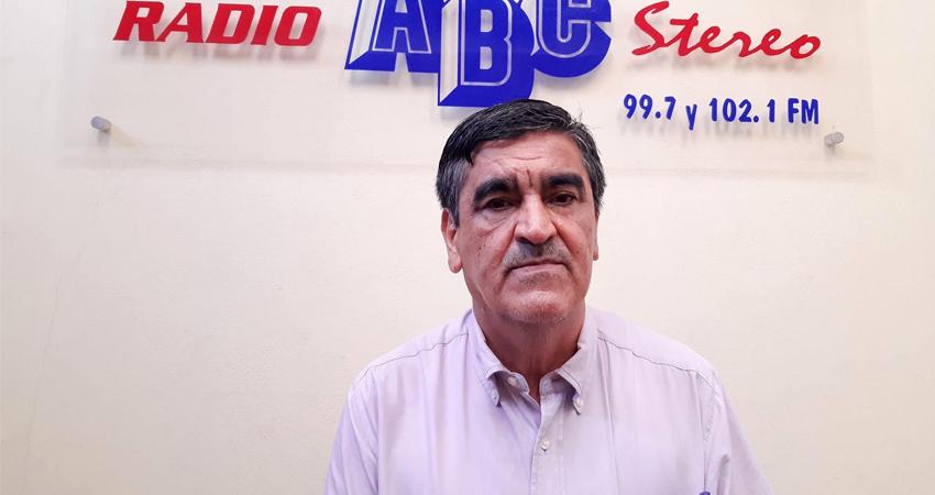 Javier Rodríguez Castillo, director de Radio ABC Stereo. Foto: Isaac Rodríguez/Radio ABC Stereo