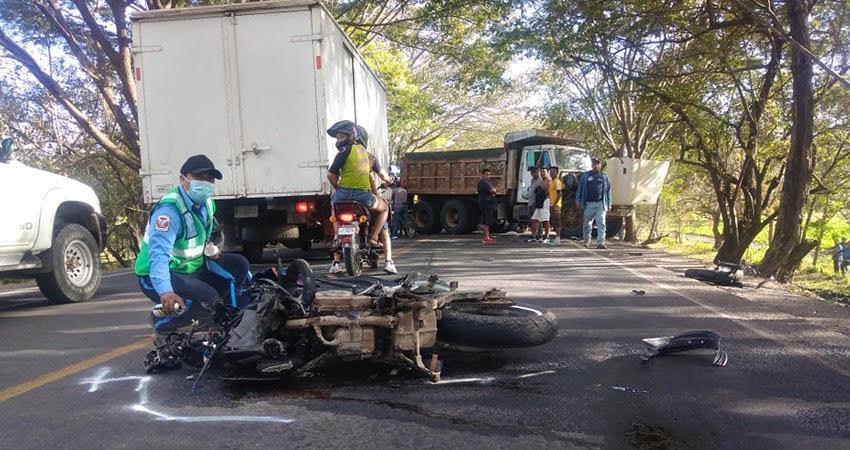 Los motociclistas son las principales víctimas. Foto: Archivo/Radio ABC Stereo