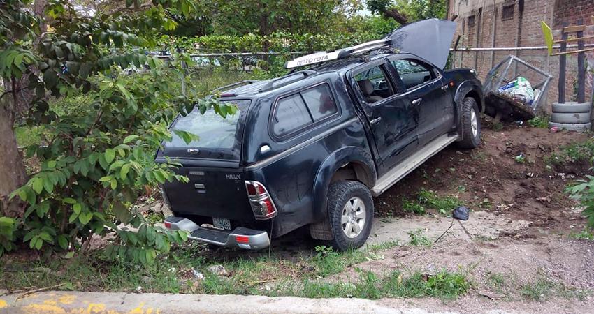 El hecho ocurrió a pocos metros del Centro de Salud Leonel Rugama. Foto: Juan Fco. Dávila/Radio ABC Stereo