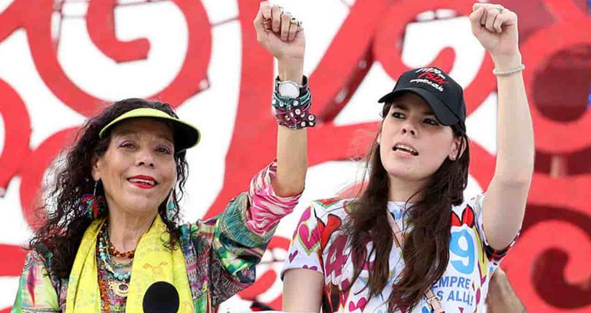 Además de Camila, hija del presidente Daniel Ortega, fueron sancionados Edwin Castro, Ovidio Reyes y Julio Rodríguez.