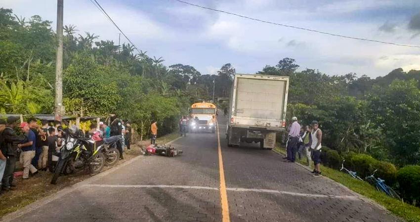 La víctima no pudo resistir y murió poco después del accidente. Foto: Cortesía/Radio ABC Stereo