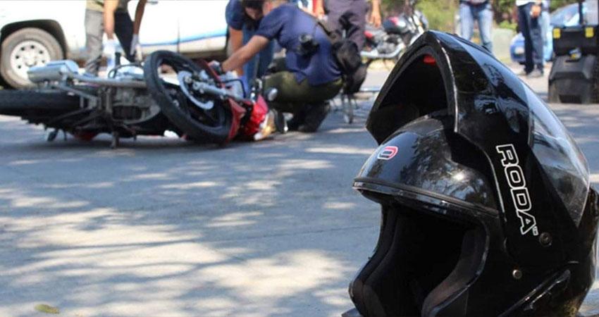 Motociclistas, principales víctimas de accidentes. Foto de referencia.
