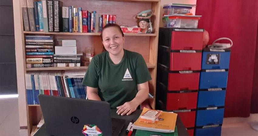 La profesora Arielka Torrez siempre quiso compartir sus conocimientos. Foto: Cortesía/Radio ABC Stereo