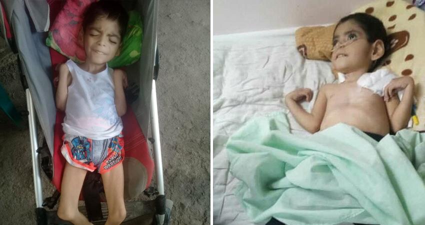 La familia del niño Johancy Ramón Rizo pide apoyo. Foto: Cortesía/Radio ABC Stereo