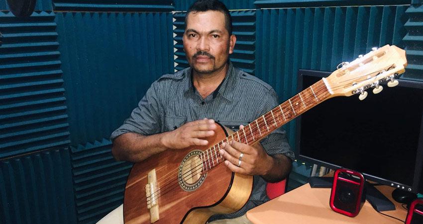Lizandro Rugama, compositor y cantante esteliano. Foto: Alba Nubia Lira/Radio ABC Stereo