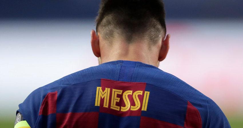 Lionel Messi debutó con el FC Barcelona el 16 de Octubre de 2004. Foto: Cortesía
