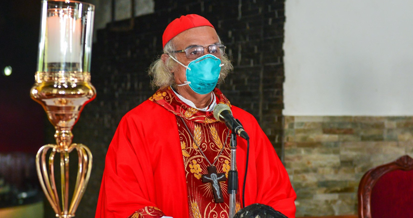 El cardenal estará retirado temporalmente de sus actividades. Foto: Cortesía/Javier Ruiz