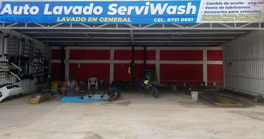 Serviwash está ubicado de Rostipollos 1 cuadra al oeste. Foto: Cortesía/Radio ABC Stereo