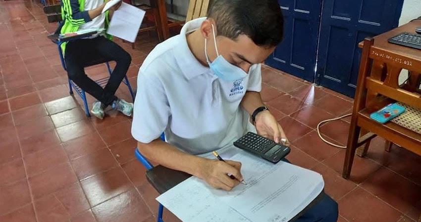 Debido a la situación e incremento de casos de Covid-19, en este centro decidieron prolongar el periodo de educación a distancia.