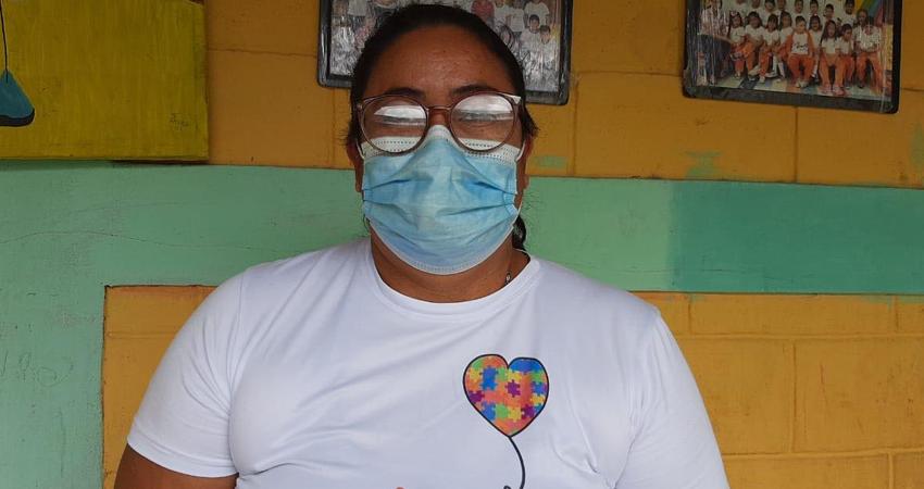 Jahima Alicia Díaz, actual directora de la Escuela y Fundación Cristal. Foto: Famnuel Úbeda/Radio ABC Stereo