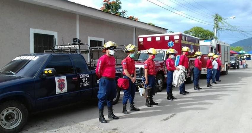 El Cuerpo de Bomberos de Estelí ya se encuentra listo ante cualquier eventualidad que pueda ocurrir en los puntos vulnerables del departamento.